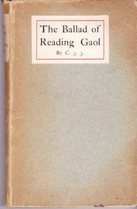 """The Ballad of Reading Gaol by Wilde, Oscar (""""C.3.3."""") - 1905"""
