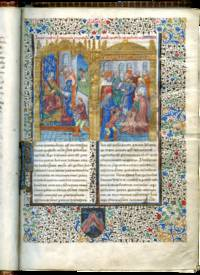Expositio in epistolas Pauli, illuminated manuscript on parchment, in Latin with frontispiece miniature possibly by a son of Jean Budé by HAIMO OF AUXERRE - from Les Enluminures  (SKU: TM 908)