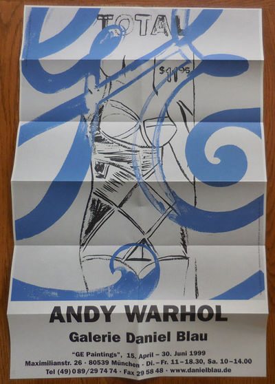 Munchen: Galerie Daniel Blau, 1999. First edition. Loose Sheets. Fine. Tall single sheet of paper, f...