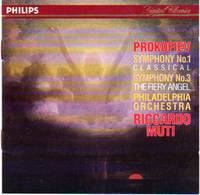 "Symphony No. 3 in C Minor, Op.44; Symphony No. 1 in D, Op.25 ""Classical Symphony"" [CD - Music Compact Disc]"