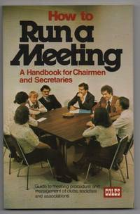 image of How to Run a Meeting