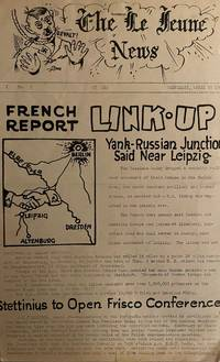 image of The Lejeune News. At Sea. Vol. I, No. 1 (24 April 1945) through Vol. I, No. 8 (1 May 1945) plus Souvenir Edition (undated) (all published)