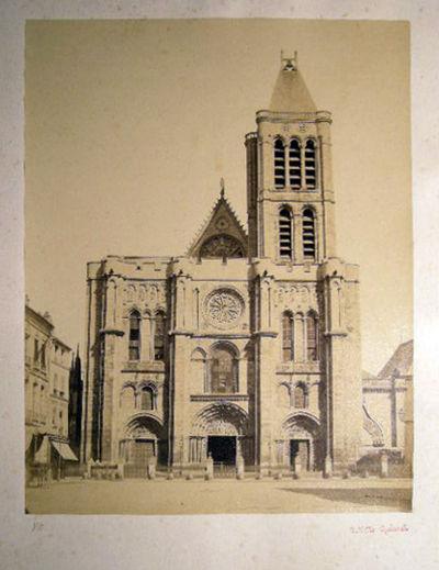 Paris, France: Achille Quinet, 1870. A large-format albumen process photographic image of the famous...