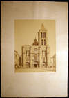 View Image 2 of 5 for Circa 1870 Large Format Photograph of the Basilica St.-Denis Paris France By Achille Quinet Inventory #25409