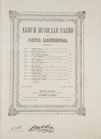 Album Musicale Sacro ... Fr. 24. [Piano-vocal score]