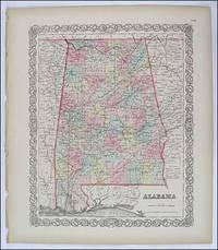 Alabama. Colton. 1856