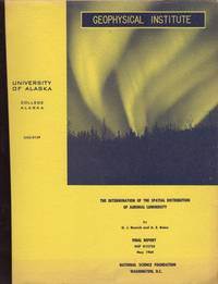 DETERMINATION OF THE SPATIAL DISTRIBUTION OF AURORAL LUMINOSITY. UAG-R149, The.