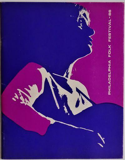 Philadelphia: Philadelphia Folksong Society, 1966. RARE souvenir program for the Fifth Annual Philad...