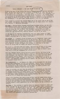 "Fact Sheet; ""Legal Lynching"" -- The Case of the Trenton Six"
