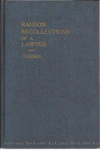 Random Recollections of a Lawyer