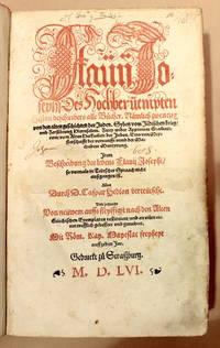 Des hochberuempten histori beschreibers all bucher [ ... ] [with]  Vom krieg der Juden [ ... ]