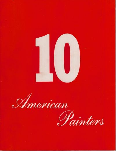 New York: Sidney Janis Gallery, 1961. First Edition. Soft cover. Very Good. Glossy red soft cover. U...