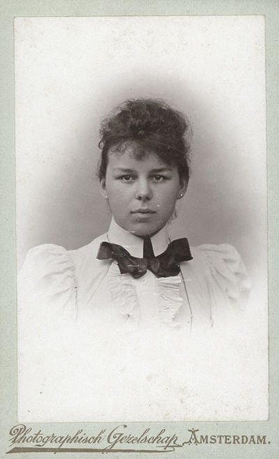 Portrait Of Annie Hissink