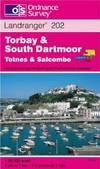 image of Torbay and South Dartmoor, Totnes and Salcombe (Landranger Maps)