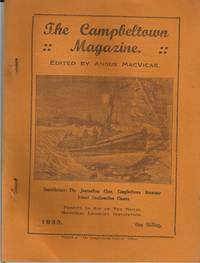 CAMPBELTOWN  MAGAZINE NO.2 JUNE 1939