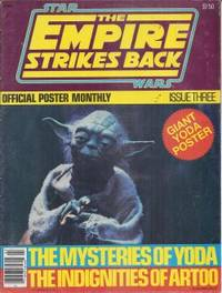 STAR WARS: THE EMPIRE STRIKES BACK Official Poster Monthly Magazine Issue Three (#3) (1980)