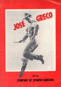 Two program leaflets for  Jose Greco: Ford's Theatre Program accompanied by full Souvenir booklet for Jose Greco and  his Company of Spanish Dancers