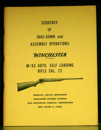 image of Sequence of Take-Down and Assembly Operations Winchester M/63 Auto. Self Loading Rifle Cal. 22