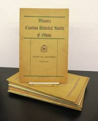 Women's Canadian Historical Society of Ottawa Annual Reports 1913-14 to 1923-1924, 1926-1927 to 1930-1931
