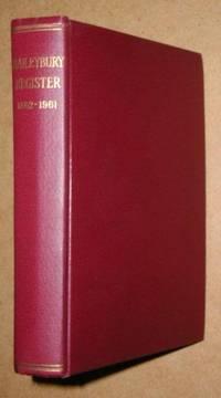 Haileybury Register, 1862 - 1961