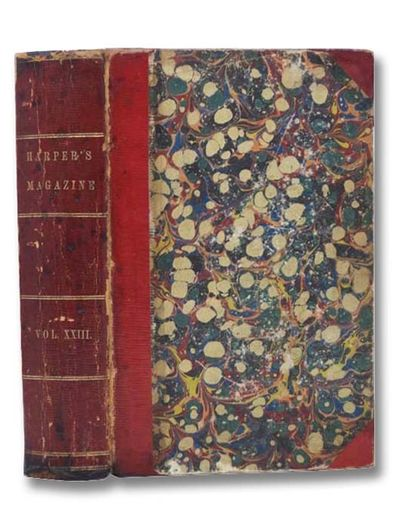 Harper & Brothers, 1861. Three-Quarter Leather. Good/No Jacket. Binding has been repaired, edges rub...