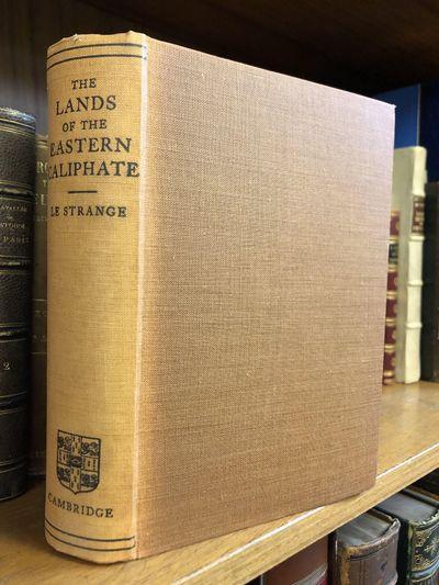 Cambridge: Cambridge University Press, 1930. First Edition, Second Printing. Hardcover. Octavo, 536 ...