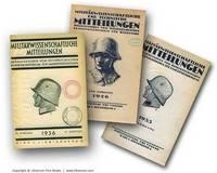 Militärwissenschaftliche und technische Mitteilungen. 57.-67. Jahrgänge, 1926-1936. [10 YEARS. 60 VOLUMES].