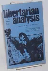 Libertarian analysis, vol. 1, no. 3