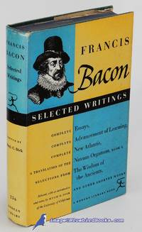 Selected Writings of Francis Bacon (Modern Library #256.2) by  Hugh G. (editor)  Francis; DICK  - Hardcover  - [c.1967]  - from Bluebird Books (SKU: 84140)