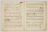 [W. V, 8]. Sonata for violin and bass in E-flat major [Autograph musical manuscript]