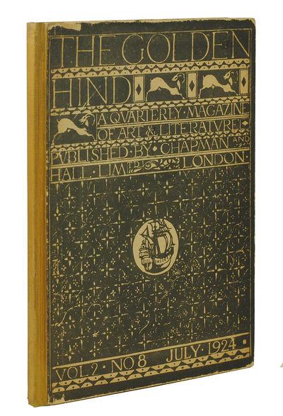 . 1 volume only (vol. 2, no. 8), tall slim quarto. Original beige cloth-backed boards, titles and de...