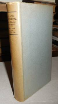 Jane Austen A Bibliography