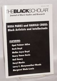 The Black Scholar: Journal of Black Studies and Research; Volume 35, number 4, Winter 2006