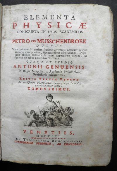 Elementa physicae conscripta in usus...