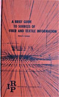 image of A Brief Guide to Sources of Fiber and Textile Information