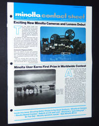 Minolta Contact Sheet, Issue 18, Spring/Summer 1979 by  Marilyn; Bruce Jenner; Bob Krist; Bank Langmore Bridges - 1979 - from A&D Books and Biblio.co.uk