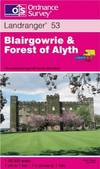 image of Blairgowrie and Forest of Alyth (Landranger Maps)