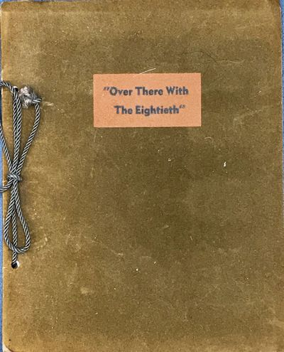 Patton, Penna: , nd. 20 cm. (8), 47, (3) pp. Limp suede covers, bound with cord, title printed on fr...