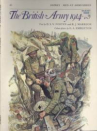 The British Army 1914-18 (Osprey Men-at-Arms Series No.81)