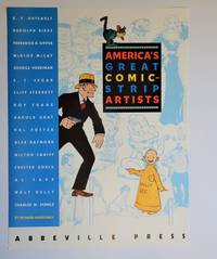 America's Great Comic-Strip Artists: Promotional Poster