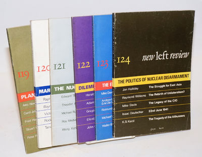 London, England: New Left Review, 1980. Six issues, complete run for 1980. All are 6x9 inches, in ve...