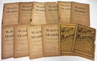 WELCH'S MONTHLY (1896-97, VOL 1: NO. 1-12)  Monthly Magazine of Dental  Art, Science & Literature