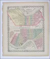 Louisville and New Orleans Street Plans. Colton.1856