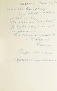 "Autograph note signed ""Upton Sinclair"""