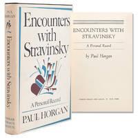 Encounters with Stravinsky