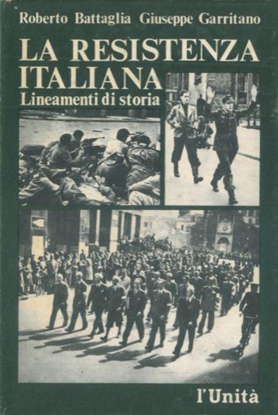 La resistenza italiana lineamenti di storia prefazione for 1 1 2 piani di cottage storia