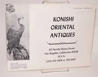 image of Konishi oriental antiques; catalogue #1, summer 1974