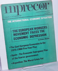 inprecor [1977, No. 19 -new series-, Dec 22] international press correspondence