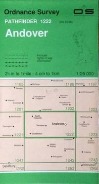 Andover Pathfinder map sheet 1222