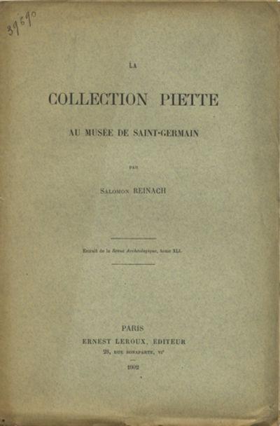 Paris: Ernest Leroux, Éditeur, 1902. Offprint. Paper wrappers. A very good copy with edgeworn wrapp...